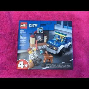 Lego City Police Dog Unit 60241 New in Box